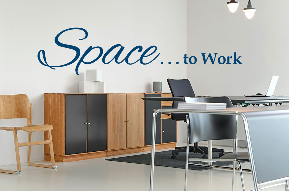Storage Units for Space to Work